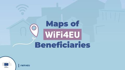 The map of WiFi4EU beneficiaries